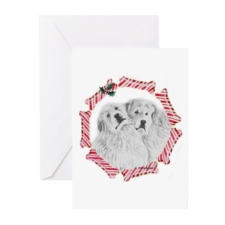 Pyrenees Pair Greeting Cards (Pk of 10)