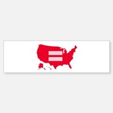Equality USA Bumper Bumper Sticker