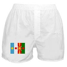 Rising four suns flags Boxer Shorts