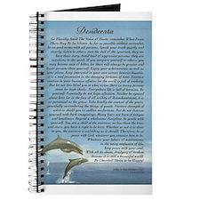 DESIDERATA Poem Dolphins Journal