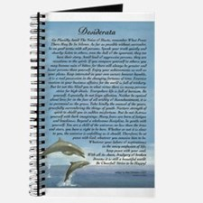 DESIDERATA Poem Dolphins Journal
