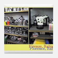 Espresso makers found in a shop, Florence, Italia