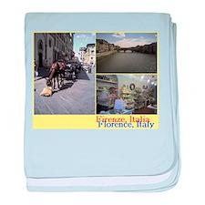 Ponte Vecchio, Firenze, Italia. baby blanket