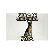 German Shepherd Mom Rectangle Magnet