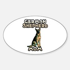 German Shepherd Mom Decal