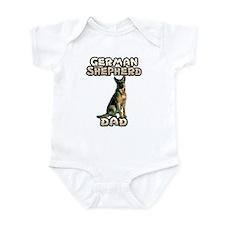 German Shepherd Dad Infant Bodysuit