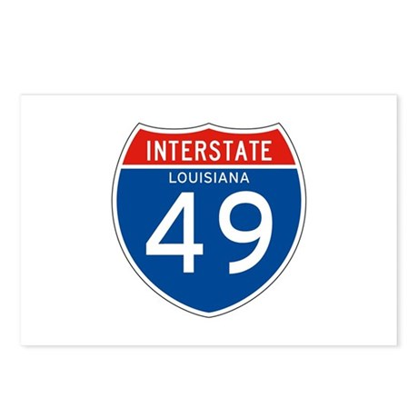 Interstate 49 - LA Postcards (Package of 8)
