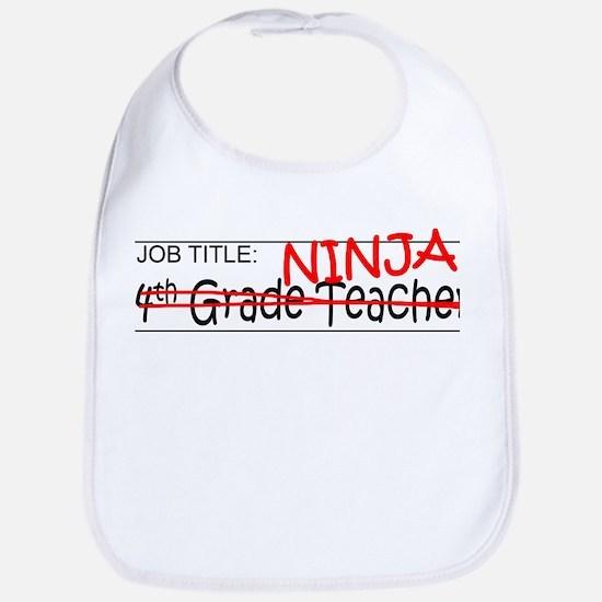 Job Ninja 4th Grade Bib