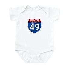Interstate 49 - LA Infant Bodysuit