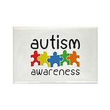 Autism Awareness Rectangle Magnet (100 pack)