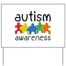 Autism Awareness Yard Sign