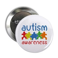 "Autism Awareness 2.25"" Button"