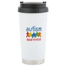 Autism Awareness Ceramic Travel Mug