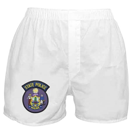Maine State Police Boxer Shorts