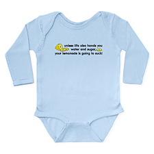 Lemonade Long Sleeve Infant Bodysuit