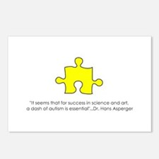 Asperger Syndrome Quote Postcards (Package of 8)