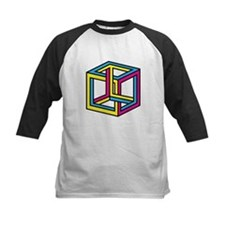 Cube Illusion Baseball Jersey