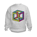 Cube Illusion Sweatshirt