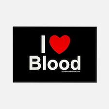 Blood Rectangle Magnet