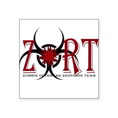 Zombie Outbreak Response Team Logo Sticker