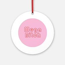 mega-b-b.png Ornament (Round)