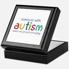 Someone With Autism Makes Me Proud Everyday Keepsa