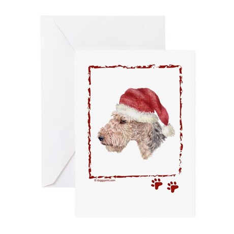 Happy Holidays Welsh Terrier Greeting Cards