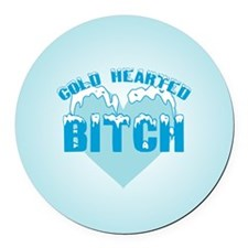 cold-b-b.png Round Car Magnet