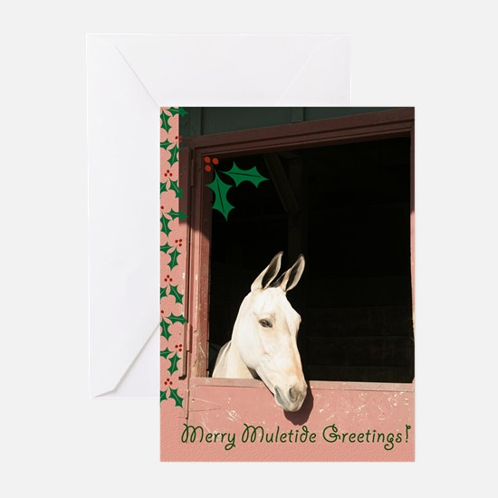 Merry Muletide Greeting Cards (Pk of 10)