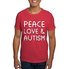 Peace Love & Autism T-Shirt