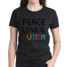 Peace Love & Autism Tee