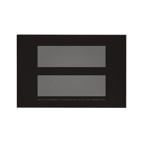 No Government Marriage Rectangle Magnet