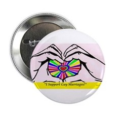 "I support Gay Marriages 2.25"" Button"