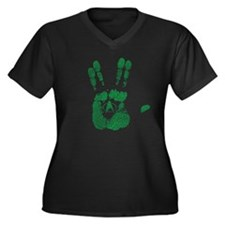 Spock hand Plus Size T-Shirt