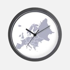 Centre of Europe Wall Clock