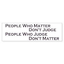 Judge Bumper Bumper Sticker