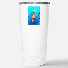 Woman swimming Travel Mug