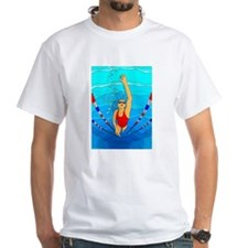 Woman swimming T-Shirt