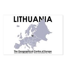 Centre of Europe Postcards: Package of 8