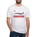 F-14 Tomcat VF-102 DIAMONDBAC Fitted T-Shirt