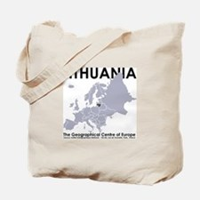 Centre of Europe Tote Bag