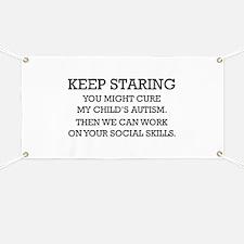 Keep Staring Banner