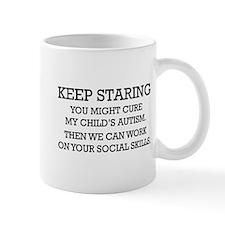 Keep Staring Mug