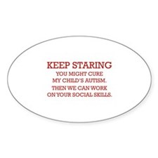 Keep Staring Decal
