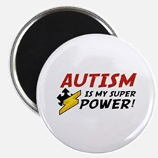 """Autism Is My Super Power! 2.25"""" Magnet (10 pack)"""