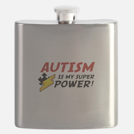 Autism Is My Super Power! Flask