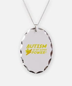 Autism Is My Super Power! Necklace