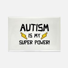 Autism Is My Super Power! Rectangle Magnet (10 pac