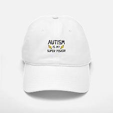 Autism Is My Super Power! Baseball Baseball Cap