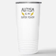 Autism Is My Super Power! Travel Mug